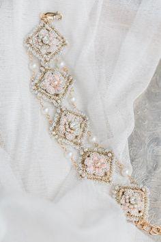 Damask Rose Bracelet