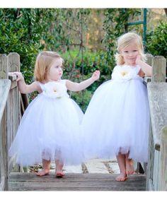 White Ella Princess Dress//