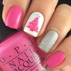 Adorable winter nails art design inspiration ideas 16