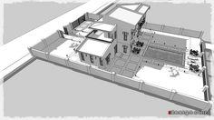 Photo by _zdesign_ Villa, Floor Plans, 3d, Design, Fork, Villas, Floor Plan Drawing, House Floor Plans