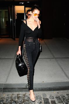 Cover girl of our September issue, Bella Hadid is social media royalty as well as queen of street chic. As well as killing it on the runway and in countless campaigns, the dark beauty has made a firm mark on the fashion world with her own personal style which blends Nineties trends with millennial athleisure. We look back at some of her winning looks.