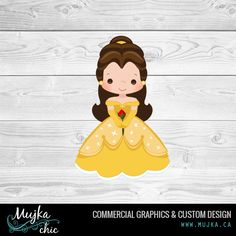 princess-belle-beauty-and-the-beast-clipart. Custom clipart www.mujka.ca
