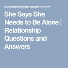 What Answer How Are Relationship To We