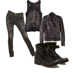DIVERGENT - Dauntless Give me this freaking outfit NOW!