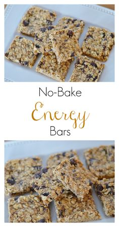 The Art of Comfort Baking: No-Bake Energy Bars.   So easy and chock full of healthy ingredients for your kiddos!