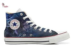 Converse All Star Hi Chaussures Coutume Mixte Adulte (Produit Artisanal) USA England Japan Size 39 EU