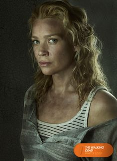 "Laurie Holden es ""Andrea"". The Walking Dead - Martes 22.00 #TWD3ENFOX #TerrorEnFOX www.canalfox.com/thewalkingdead"