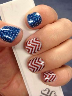 How super cute for Memorial Day and/or for the 4th of July.