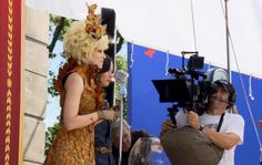 MUST SEE: Behind-the-Scenes Catching Fire Footage