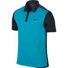 Nike Men's Advantage Tennis Polo, Size: Medium, Blue