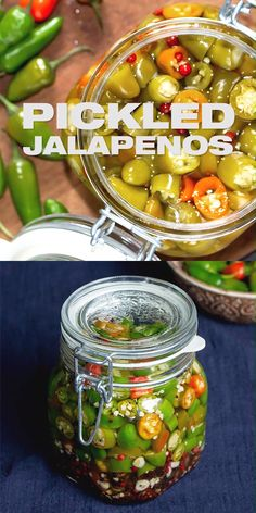 Quick pickled jalapenos recipe spicy easy jalapenos in brine diy homemade pickle prepared with fresh jalapenos learn canning + to preserve with uses flavor ideas and more masalaherb com jalapeno pickle weight loss food diary weightlossfood Pickled Vegetables Recipe, Canning Vegetables, How To Pickle Vegetables, Hot Sauce Recipes, Spicy Recipes, Chard Recipes, Health Recipes, Bacon Recipes, Business Tips