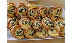 Snacks mit Spinat   Chefkoch.de