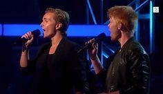 Når Himmelen Faller Ned - Audun Rensel & Pål Rake - The Voice Norge / No...
