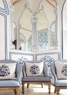 Bar Palladio Jaipur India designed by Marie-Anne Oudejans | Remodelista