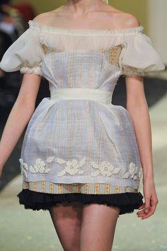 Oksana Tessitelli.Once upon in a Fairytale: Ulyana Sergeenko Haute Couture Весна-Лето 2013 (коллекция +детали))