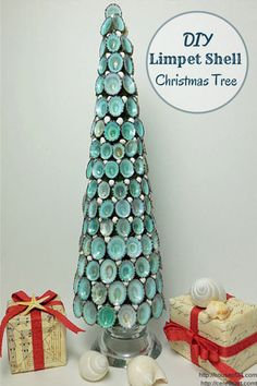 DIY Limpet Shell Christmas Tree