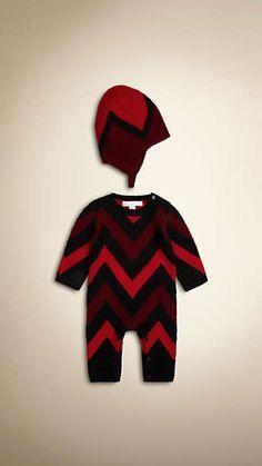 Zigzag Two-Piece Cashmere Gift Set