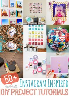 Over 50 DIY Instagram Projects to Make Updated Square @savedbyloves