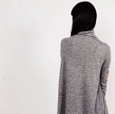 The perfect fall/winter layering piece, T-shirt C11 ($38). Also comes in beige and black. // #oakandfort #fw15