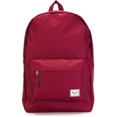 Herschel Supply Co. Classic 746 Backpack ($43) ❤ liked on Polyvore featuring bags, backpacks, red, red backpack, herschel supply co., purple bag, rucksack bag and backpacks bags