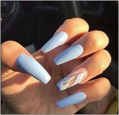 Extend fashion to your nails using nail art designs. Worn by fashion-forward celebs, these kinds of nail designs will add instantaneous style to your apparel. Summer Acrylic Nails, Best Acrylic Nails, Acrylic Nail Designs, Gorgeous Nails, Pretty Nails, Aycrlic Nails, Coffin Nails, Nails 2016, Acrylic Nails Coffin Classy