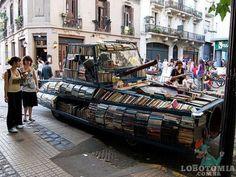 戦車型図書館