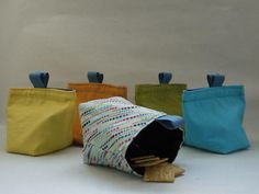 Reusable Snack Bags/Bowls