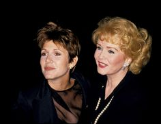 Carrie Fisher and Debbie Reynolds (Photo by Ron Galella/WireImage) via @AOL_Lifestyle Read more: http://www.aol.com/article/entertainment/2016/12/25/debbie-reynolds-says-daughter-carrie-fisher-in-stable-condition/