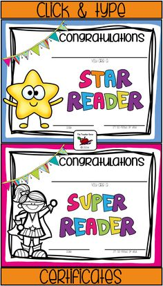 Teacher Of the Month Certificate Template Awesome Reading Awards Certificates Certificate Of Achievement Template, Certificate Design Template, Printable Certificates, Award Certificates, Kids Awards, Reading Incentives, Reading Buddies, Reward Stickers, Reading Projects