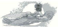 Fairy Dreaming Monochrome Design by Pascal Moguerou
