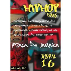 Assim como a minha  o hip hop salvou e continua salvando muitas outras vidas resgatando jovens e adolescentes a margem de risco tirando das drogas e do submundo do crime .  Seja cantando um rap  dançando um breaking fazendo scratch ou graffiti ... Onde a arte existe a realidade transforma  E no próximo domingo na praça do Jamaica estaremos fortalecendo esta cultura de resistência na nossa cidade ; com muita arte  dança  música e entretenimento  Você é o nosso convidado. Venha prestigiar…