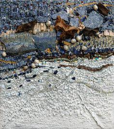 """""""Ocean"""" 1995 56 X 45 Charles Van Nguyen Du. Abstract mosaic...love this!"""