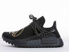 c3a41be3a9fd0 OVO x Pharrell Williams x Adidas NMD Human Race BB7603 Cool Adidas Shoes
