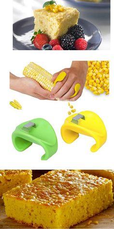 ¿Te gusta el pastel de elote? Con este utensilio puedes desgranar los elotes súper rápido. Encuéntralo en nuestro sitio.