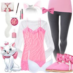 Marie From The Aristocats Halloween Costume