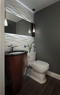 luminaire salle de bains suspensions de design original et panneau 3 D