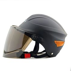 Motorcycle Motor Bike Scooter Safety Helmet 302 dull black