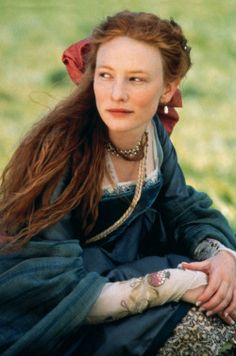 Tudor Costume Cate Blanchette is amazing. She manages to make the cumbersome gowns look like they could actually be worn and lived in.