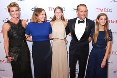 Here's some news that probably won't come as a surprise but is still worth knowing. Two lovely people, Faith Hill and Tim McGraw, produced three lovely daughters. It's not often we get to see Gracie, Maggie, and Audrey McGraw, but the three stepped out with their parents last night for the TIME 100 Gala in New York City.