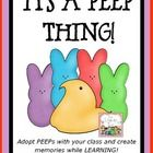 Send your students off to spring break with a sweet Marshmallow Peep to care for!  Every year my class adopts Marshmallow Peeps and spends the day ...$7