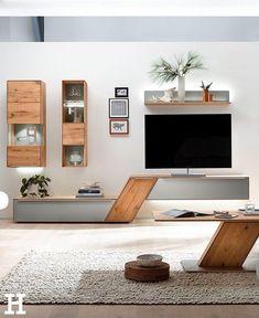 104 veces he visto estas agraciadas muebles minimalistas. Tv Unit Furniture Design, Tv Unit Interior Design, Interior Design Inspiration, Room Interior, Modern Furniture, Tv Wall Design, Design Ideas, Interior Livingroom, Modular Furniture