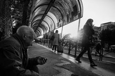 Rome, 2014  Black and White Street Photography, Italy