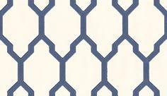 Tessella Navy wallpaper by Farrow & Ball