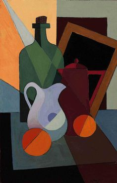 Bela de Kristo, Still Life with Oranges, 1958. via Christies