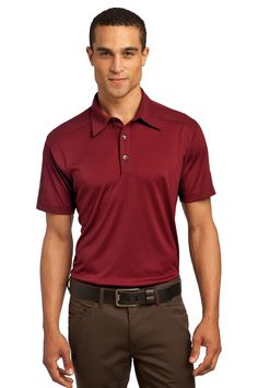 Leading-edge design merges with wicking technology in this polo that comes equipped with a pique OGIO heat transfer at the center back for tag-free comfort and a woven OGIO badge at the hem.4.9-ounce, 100% poly interlock with stay-cool wicking technology.Pique collar and placket Twill tape on shoulders from neck to sleeve hem 3-button placket with OGIO-embossed metal concave buttons Set-in, open hem sleeves Adult Sizes: XS-4XL. Minimum 12 pieces. $40 includes your custom embroidered logo