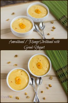 Let's kick start this mango season with this yummylicious super simple dessert, Amrakhand/Aam Shrikhand.I prepared this with greek yogurt and whipped it up within 15 minutes.