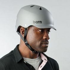 Bern Watts bike helmet Matte Grey