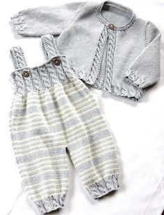 Ravelry: Baby Overalls with de