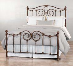 Wesley Allen Olympia Iron Bed Western Bedroom Furniture