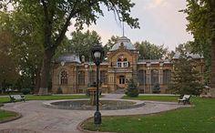 "The Tashkent Palace ~ Grand Duke Nikolai Konstantinovich Romanov of Russia was banished here in 1877. ""AL"""